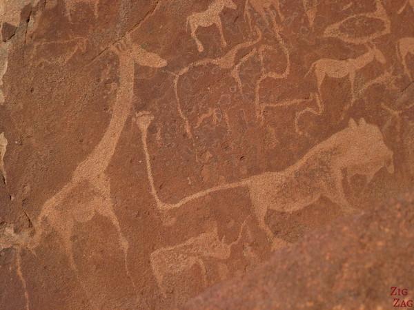 Rock engravings of Twyfelfontein, Namibia photo 2