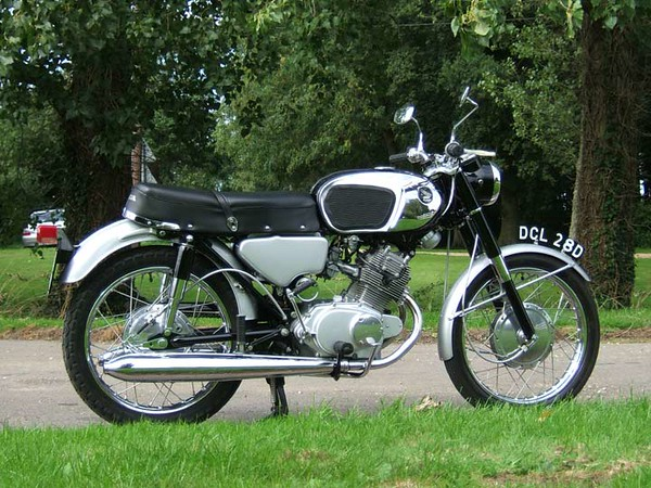 1966 Honda CB 160 (put a Rocky big bore kit in mine)