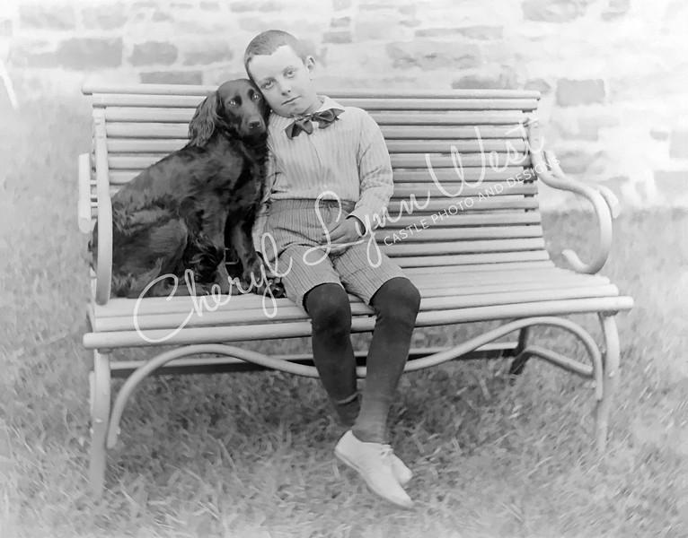 Boy-Hugging Dog-Bench-WM.jpg