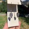 1.50ctw (est) Victorian Leaf Component Earrings 17