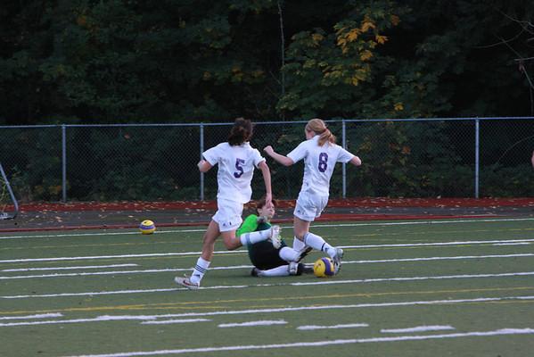 2008--10-23 IHS Girls JV Soccer vs Garfield