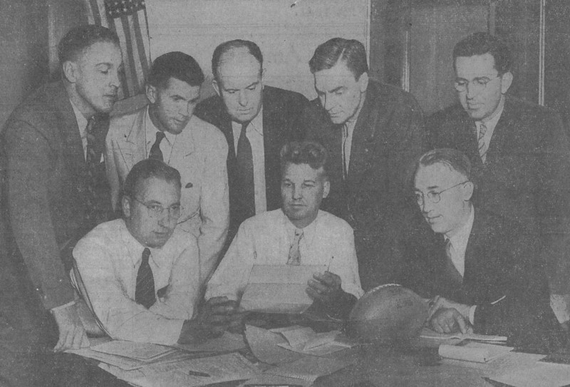 HV 1941 at IHSA football rules meeting crop.jpg