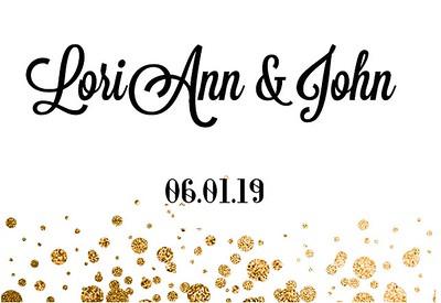 LoriAnn & John's Wedding!