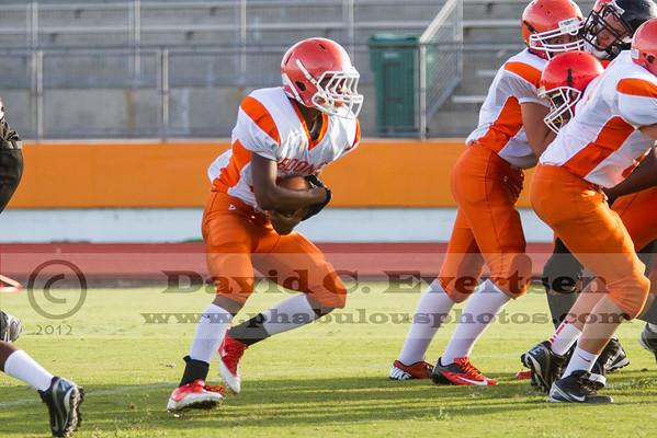 Boone Freshman Football #8 - 2012