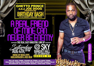 "JOB DOGG aka GHETTO PRINCE ""BIRTHDAY BASH 2018""(12)"