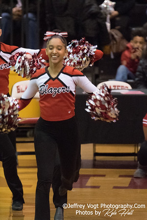 2/3/2018 Montgomery Blair HS at MCPS County Poms Championship Blair HS Division 3, Photos by Jeffrey Vogt Photography with Kyle Hall