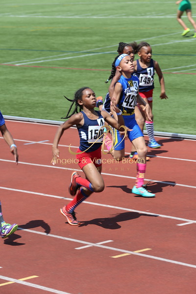 2017 AAU DistQual: 9 Girls 100m