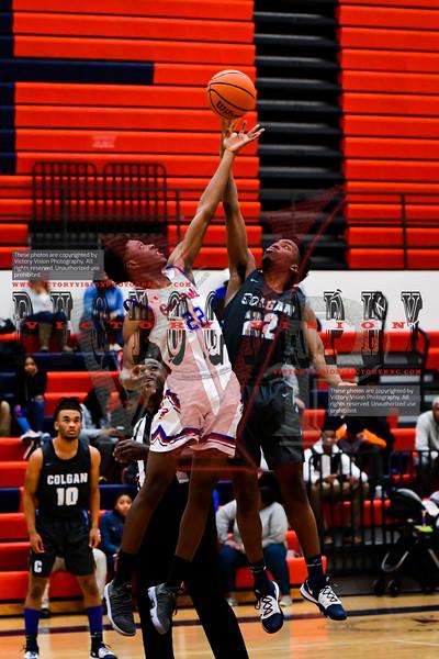 Colgan @ Gar-Field Boys Varsity Basketball 1-16-20