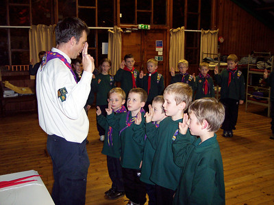 2007-11-02 Cub Camp at Kibblestone with 99th Berry Hill