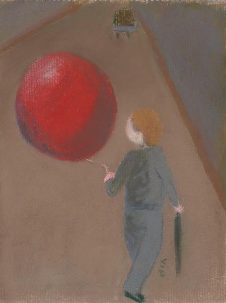 No.150 Le ballon rouge et le garçon dans la rue.jpg