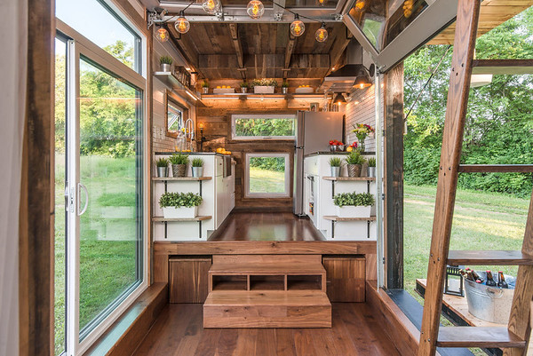 Tiny House Stage / Glass Doors Ideas