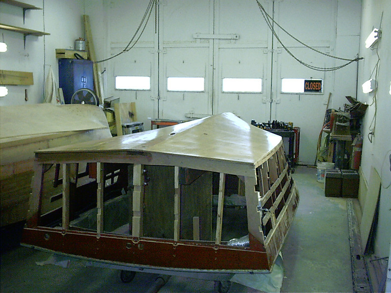 Rear view of epoxy applied to bottom.