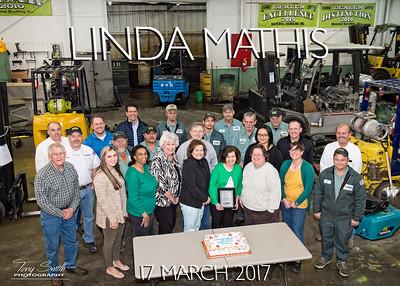 Linda Mathis Retirement 17 March 2017