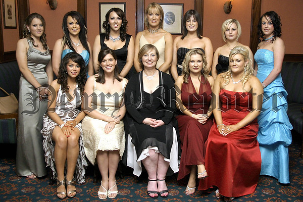 Pictured are the full time Beauty Students of You Nique College of Beauty & Holistics at their awards presentation night in the Canal Court Hotel, with Kathy Casey and Lisa Mallon, course tutors and Aine Larkin, College Principal.