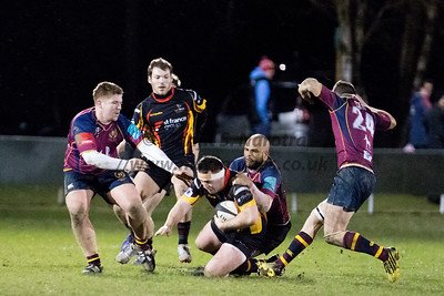 Birmimngham Bees 1st XV vs Bournville 1st XV - North Midlands Cup S/F 17-03-2017