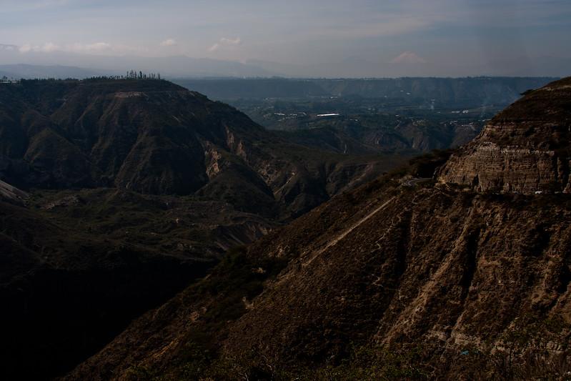 Mountains Outside of Quito Ecuador
