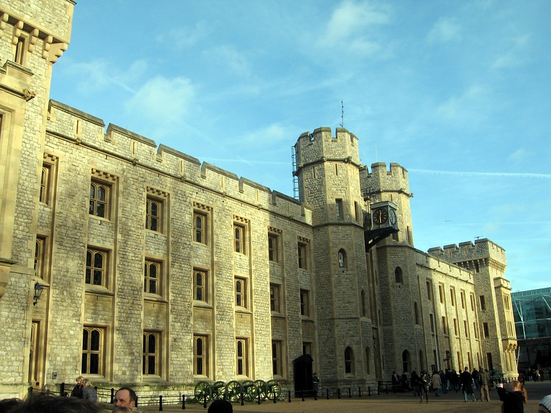 Waterloo Barracks, including the Jewel House where the Crown Jewels have been kept since 1303.