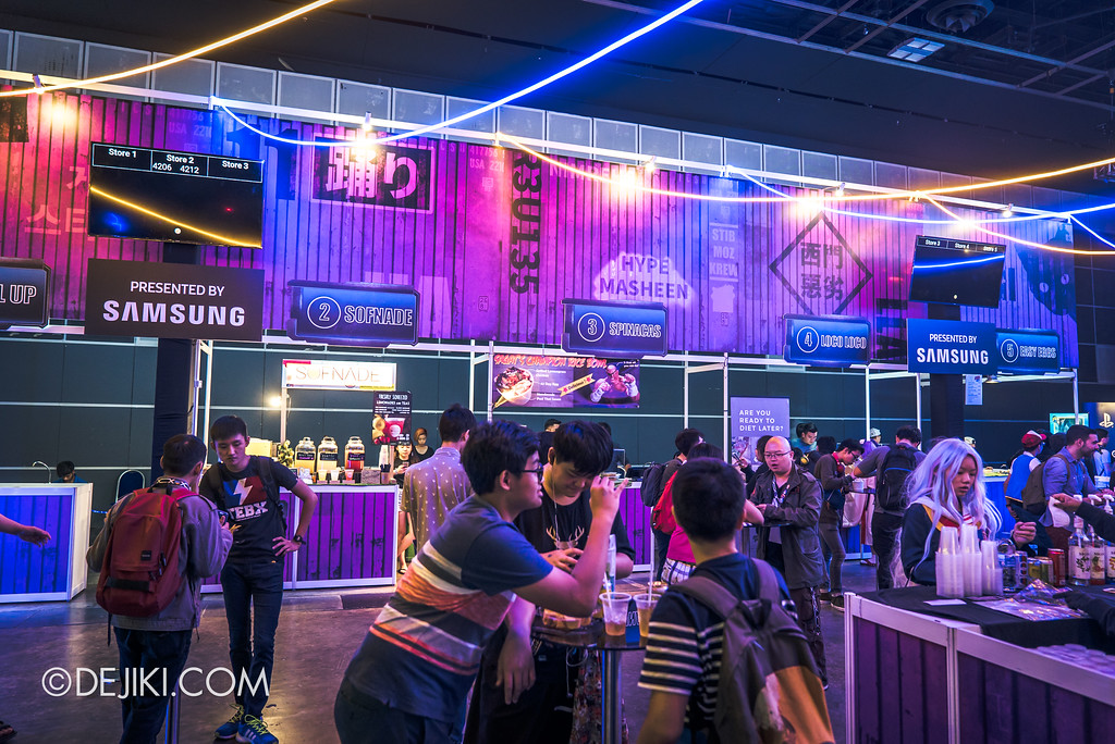 GameStart Asia 2017 Singapore gaming convention - The Drinkery by Samsung