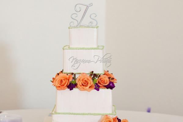 Cake Cutting - Stephanie and Scott