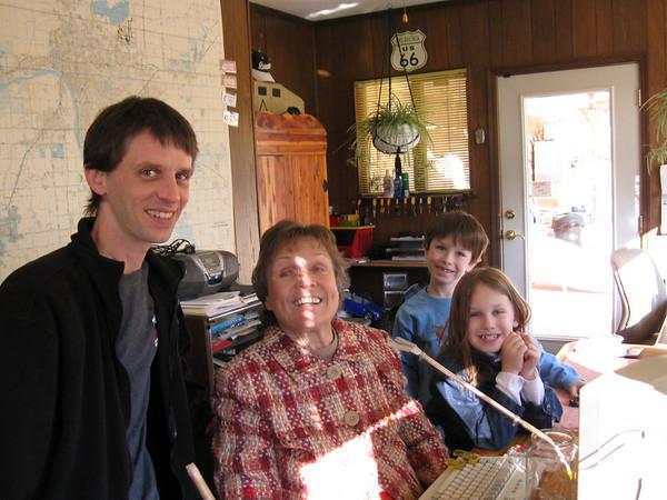 090119 - Grandma in Tulsa Oklahoma