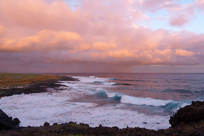 Pink Sunset January 2013, Cynthia Meyer, Hawaii