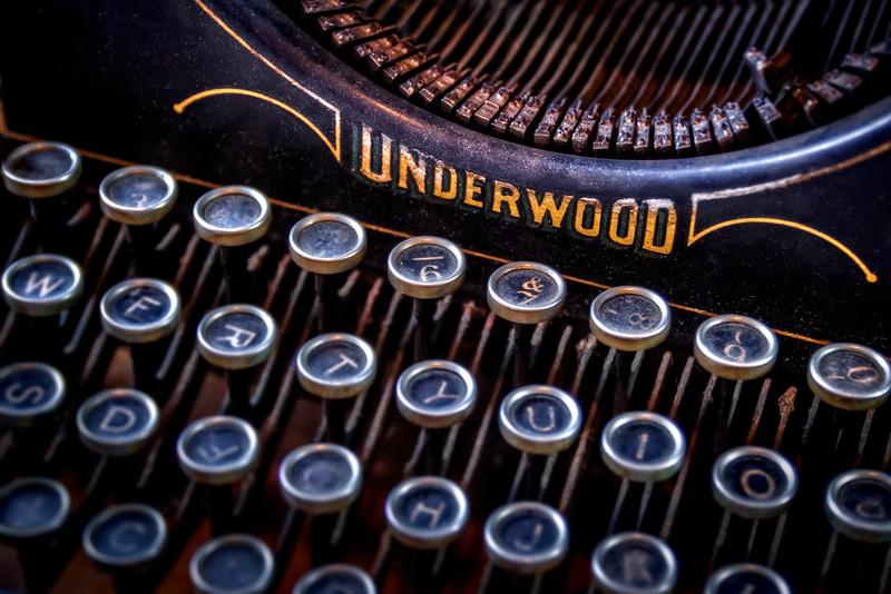 Vintage Typewriter 2 - $8