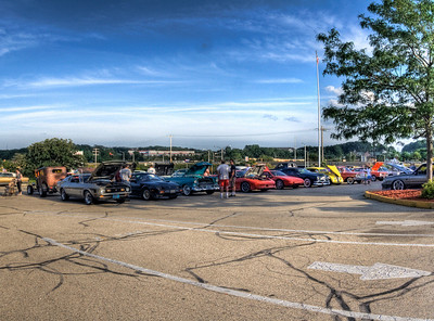 Delafield Classic Car Show/ Hardee's Parking Lot
