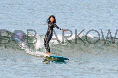 Surfing Long Beach 7-4-17