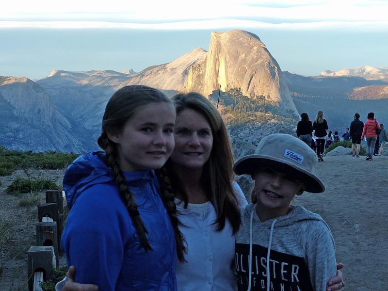 Twilight trip to Glacier Point