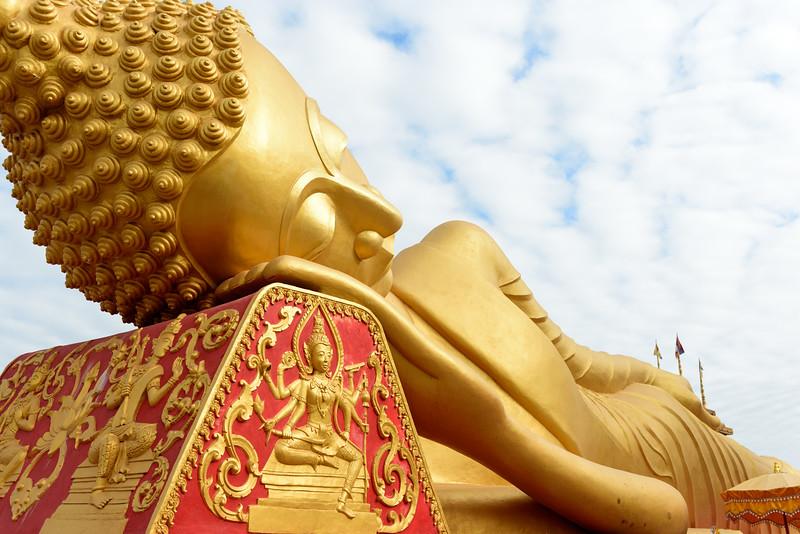 Reclining Buddha, Vientiene, Laos