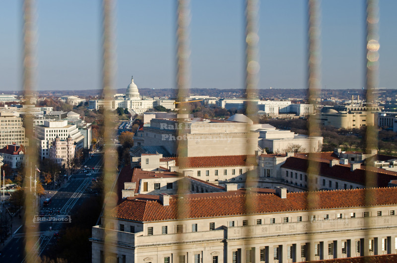 Pennsylvania Avenue and the Capitol of the U.S.