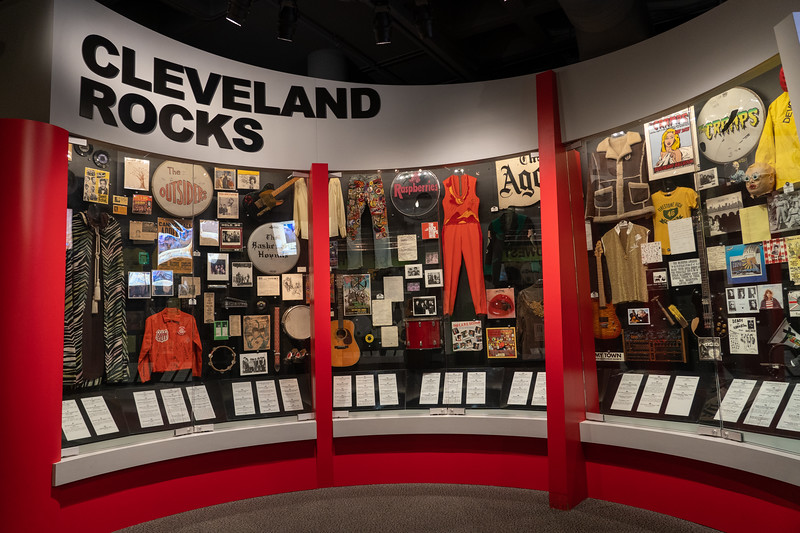 Rock and Roll Hall of Fame display