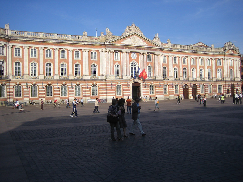 The main square in Toulouse