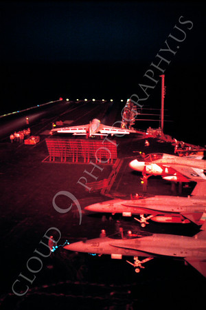 Night Aircraft Carrier Scene Airplane Pictures