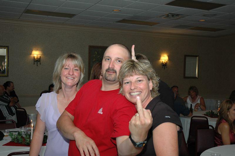 Terri Ensman, Doug and Leslie Spangler