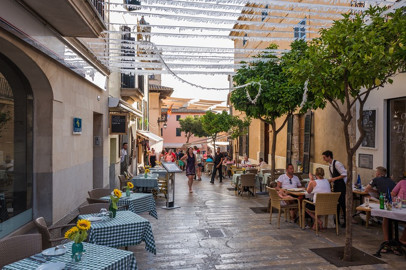 The Old Town in Alcudia