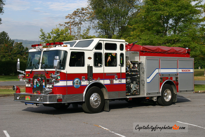 Lewistown (United Fire Co.) X-Engine 11: 2002 KME 1500/750