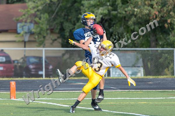 2013 08 29 Freshman Football vs Adams