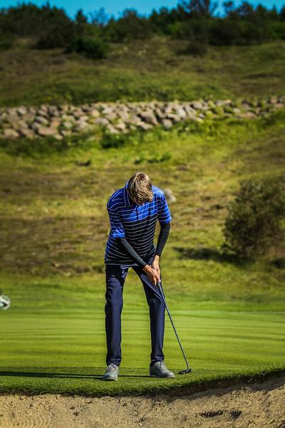 GR, Egill Orri Valgeirsson Íslandsmót í golfi 2019 - Grafarholt 2. keppnisdagur Mynd: seth@golf.is