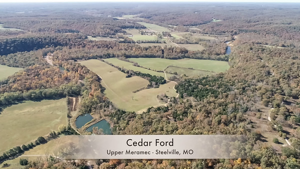 Cedar Ford - Upper Meramec - Steelville MO