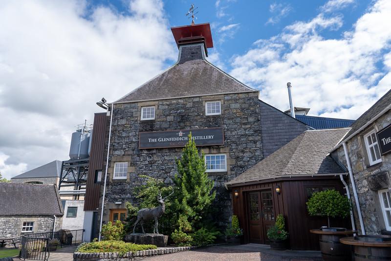 Glenfiddich Distillery in Speyside