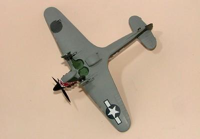 Hurricane no.2, USAAF 2-seater IIa,