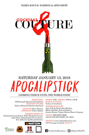 Cocktails & Couture 2018: Apocalipstick