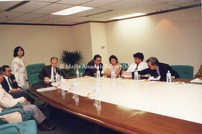 1995 - LAWATAN DELIGASI DARI PAKISTAN