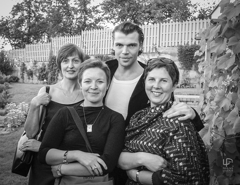Foto atminčiai: Laima Žemulienė,  Erika Umbrasaitė, Juozas Statkevičius ir Laisvė Radzevičienė.