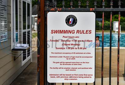 Buckner Park Pool Opens For Summer 2020 by Jessica Payne