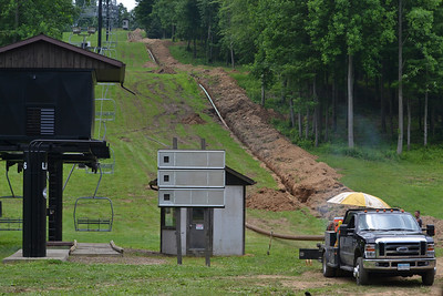 New Snowmaking Line Project