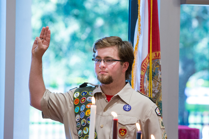 Tyler's Eagle Scout Celebration
