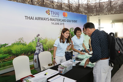 Thai Airways-MasterCard Golf Event