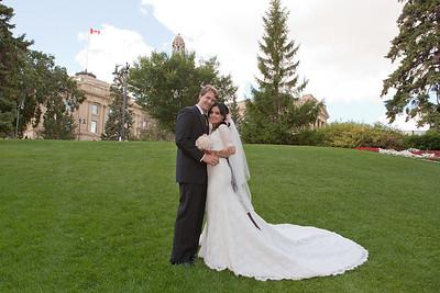 Imane and John Wedding